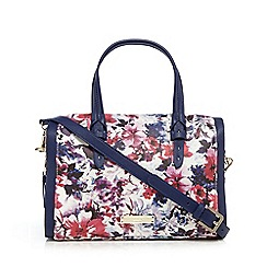 Bailey & Quinn - Navy floral printed grab bag
