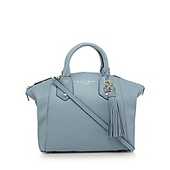 Bailey & Quinn - Light blue leather dome bag
