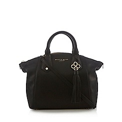 Bailey & Quinn - Black leather dome bag