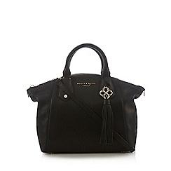 Bailey & Quinn - Black leather dome bag