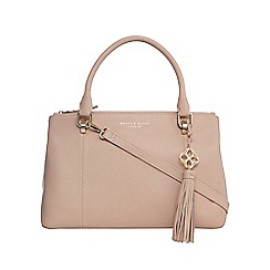 Bailey & Quinn - Light pink leather 'Delphine' grab bag