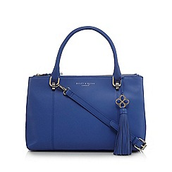 Bailey & Quinn - Blue leather 'Delphine' grab bag