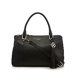 Bailey & Quinn - Black leather 'Delphine' grab bag