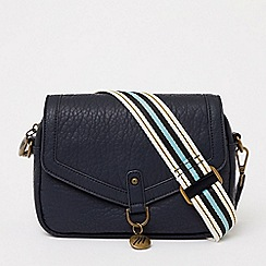 Bailey & Quinn - Navy colour block large tote bag