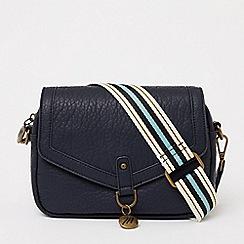 Bailey & Quinn - Navy colour block large tote bag