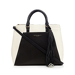 Bailey & Quinn - Black colour block tote bag