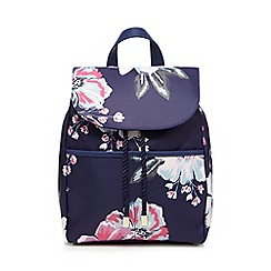 Bailey & Quinn - Purple floral print backpack