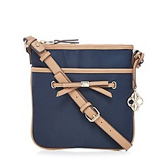 Bailey & Quinn - Navy bow detail cross body bag