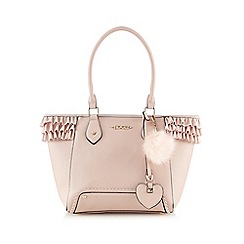 Floozie by Frost French - Light pink frilled tote bag