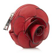 Red Rose Applique Across Body Bag