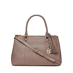 J by Jasper Conran - Pink leather tote bag