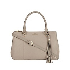 J by Jasper Conran - Taupe leather tote bag