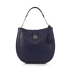 Bailey & Quinn - Blue tasselled shopper bag