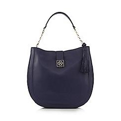 Bailey & Quinn - Blue tasselled shopper bag