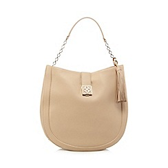 Bailey & Quinn - Camel tasselled shopper bag
