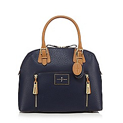 J by Jasper Conran - Navy colour block grab bag