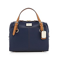 J by Jasper Conran - Navy large grained grab bag