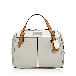J by Jasper Conran - Grey large grained grab bag