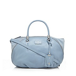 J by Jasper Conran - Light blue side zip bowler bag