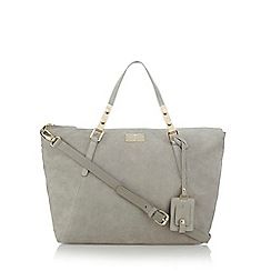 J by Jasper Conran - Grey slouchy bowler bag