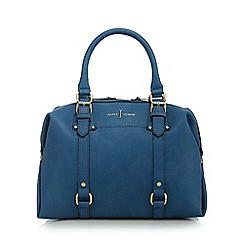 J by Jasper Conran - Light blue buckle detail bowler bag