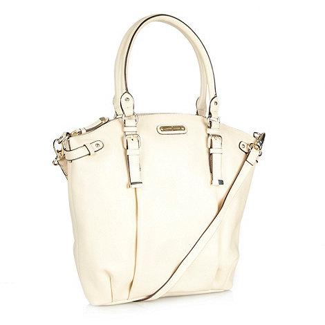 J by Jasper Conran - Designer natural curved leather tote bag
