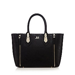 Star by Julien Macdonald - Black zip detail grab bag