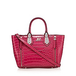 Star by Julien Macdonald - Pink croc-effect textured grab bag