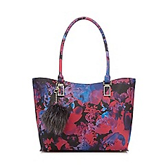 Star by Julien Macdonald - Pink floral printed shopper bag