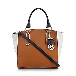 Star by Julien Macdonald - Tan colour block large grab bag
