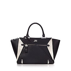 Star by Julien Macdonald - Black snakeskin-effect tote bag