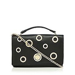 Star by Julien Macdonald - Black cut-out cross body bag