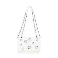 Star by Julien Macdonald - White cut-out cross body bag