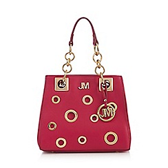 Star by Julien Macdonald - Dark pink cut-out grab bag
