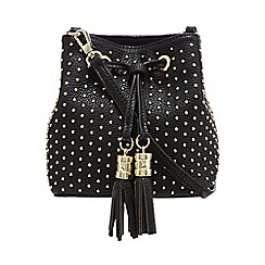 Star by Julien Macdonald - Black small studded duffle bag