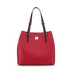 Principles by Ben de Lisi - Pink logo plate shopper bag