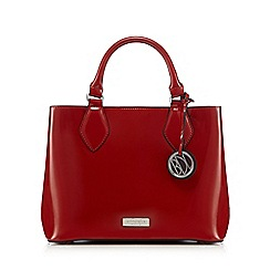 Principles by Ben de Lisi - Bright red patent mini grab bag