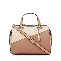 Principles by Ben de Lisi - Beige colour block grab bag