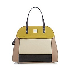 Principles by Ben de Lisi - Lime colour block dome bag
