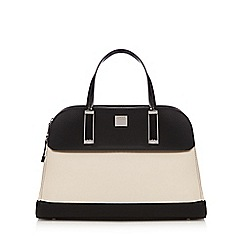 Principles by Ben de Lisi - Black colour block dome bowler bag