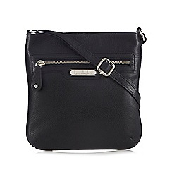 Principles by Ben de Lisi - Black leather cross body bag