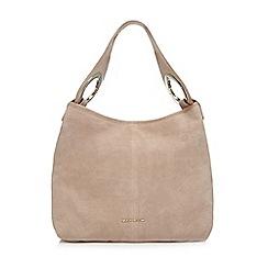 RJR.John Rocha - Natural suede shoulder bag