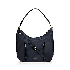 RJR.John Rocha - Navy zip shoulder bag
