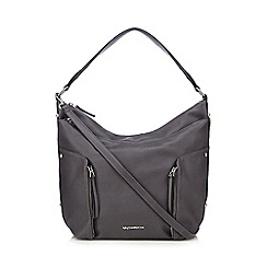 RJR.John Rocha - Grey grained shoulder bag
