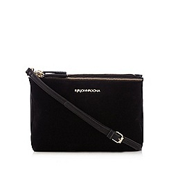 RJR.John Rocha - Black textured organiser bag