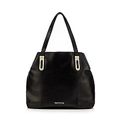 RJR.John Rocha - Black slouchy leather tote bag