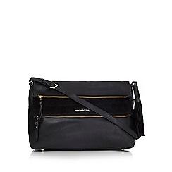 RJR.John Rocha - Black leather shoulder bag