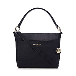 RJR.John Rocha - Navy leather shoulder bag