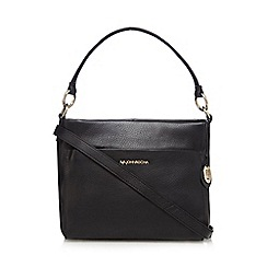 RJR.John Rocha - Black leather shoulder bag