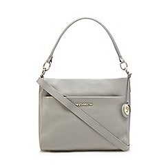 RJR.John Rocha - Grey leather shoulder bag
